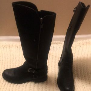 G by guess mid calf riding boot.